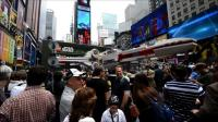 News video: Giant Lego Star Wars X-Wing lands on New York