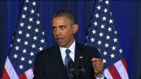 News video: Obama heckled during policy speech on Guantanamo