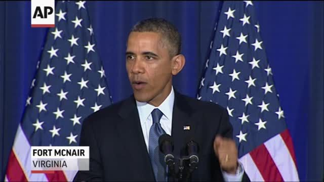 News video: Obama Defends Drone Strikes, With Limits