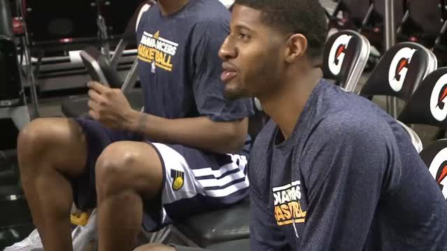 News video: Pacers putting Game 1 heartbreak behind them