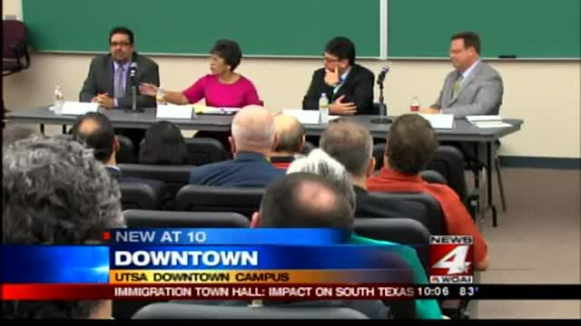 News video: Immigration Town Hall; Impact On South Texas