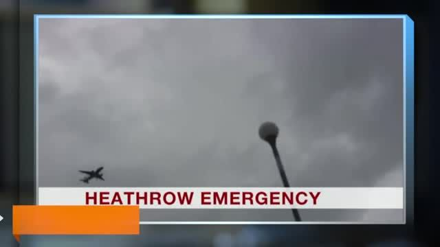 News video: Top News Headlines: Emergency Landing at Heathrow Airport