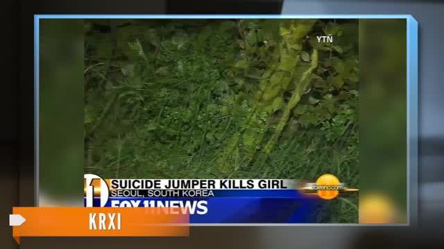 News video: Suicide Jumper Lands on, Kills 5-Year-Old Girl