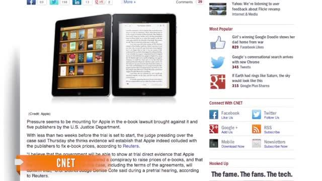 News video: Case Against Apple Suggests E-Book Price-Fixing 'Conspiracy'