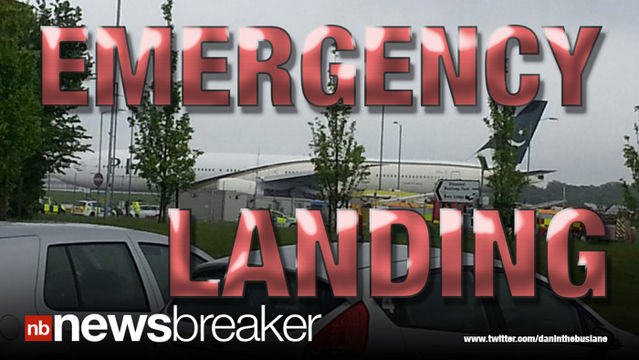 News video: BREAKING: Man Shouting on Plane Over Great Britain Forces Emergency Landing